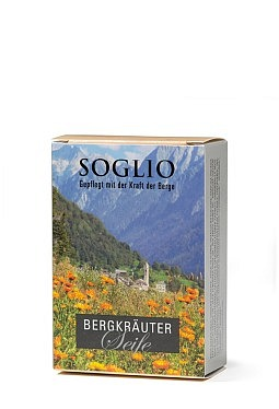 Soap with alpine herbs